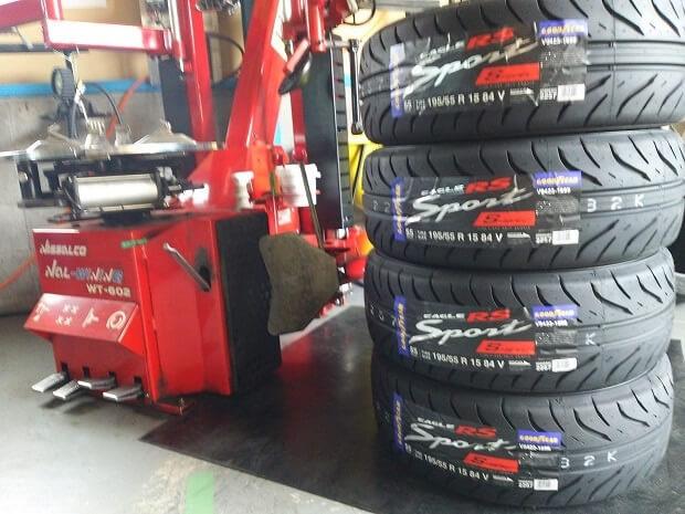 あなたのお車に適したタイヤを選びましょう